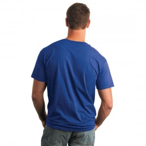 Gildan 64000 Softstyle Semi-fitted Adult T-Shirt Model Back