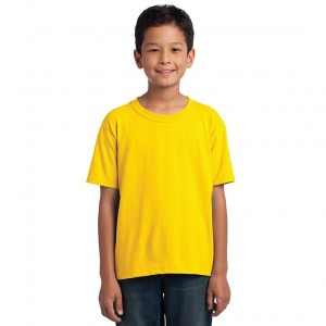 Fruit of the Loom Youth HD Cotton T-Shirt Model Front