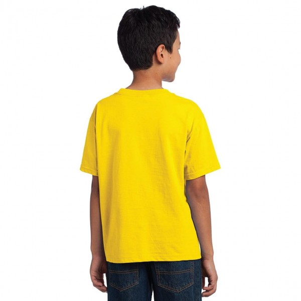 Fruit of the Loom Youth HD Cotton T-Shirt Model Back