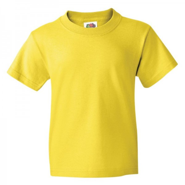 Fruit of the Loom Youth HD Cotton T-Shirt Front