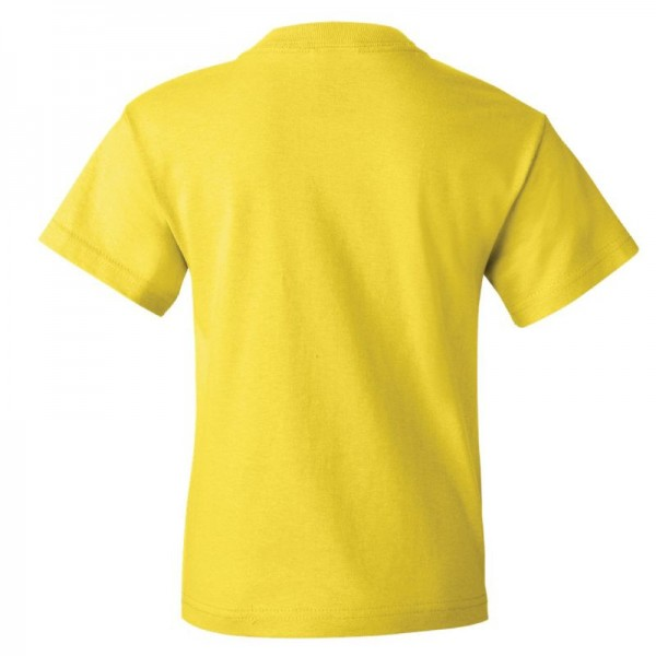 Fruit of the Loom Youth HD Cotton T-Shirt Back