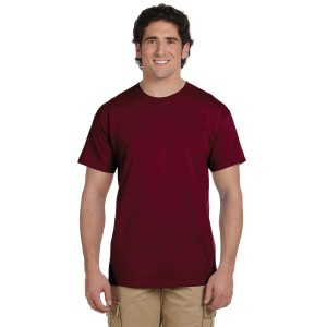 Fruit of the Loom HD Cotton Adult T-Shirt Model Front