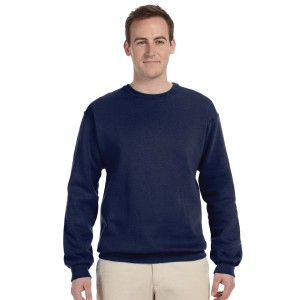 Fruit of the Loom Adult Crew Sweatshirt Front Model