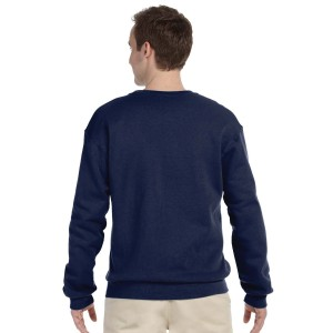 Fruit of the Loom Adult Crew Sweatshirt Back Model