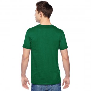 Fruit of the Loom Sofspun Jersey T-Shirt Model Back