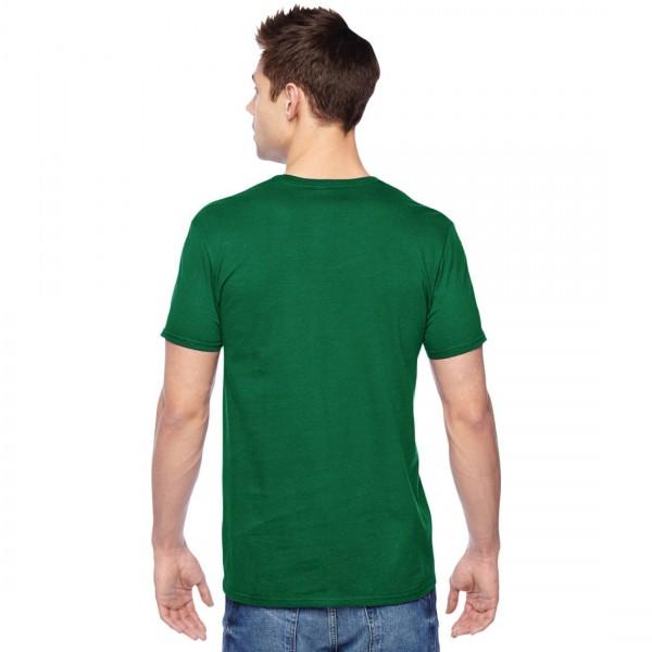 Fruit of the Loom Sofspun Jersey T-Shirt Model Back