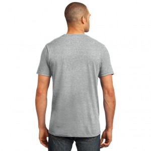 Anvil 980 Adult Lightweight T-Shirt Model Back