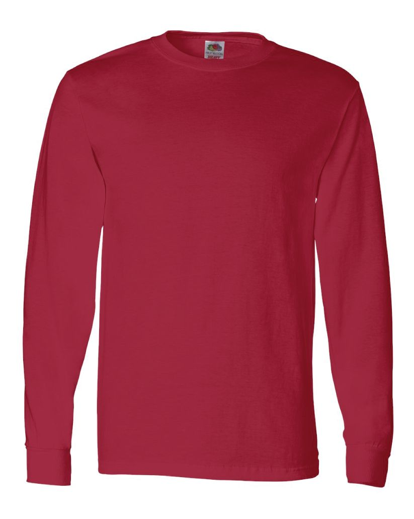 Fruit of the Loom HD Cotton Long Sleeve T-Shirt - American Printworks